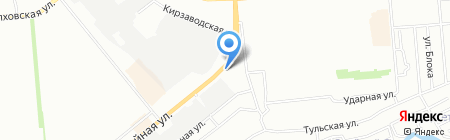 Автопартнер на карте Новосибирска
