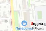 Схема проезда до компании Теплый дом в Новосибирске