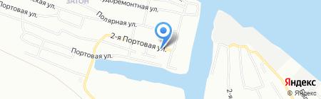 Волна на карте Новосибирска
