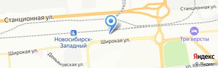 D-ONE на карте Новосибирска