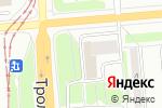 Схема проезда до компании Клиника женского здоровья в Новосибирске