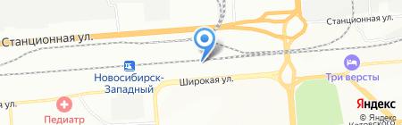 Альтком на карте Новосибирска