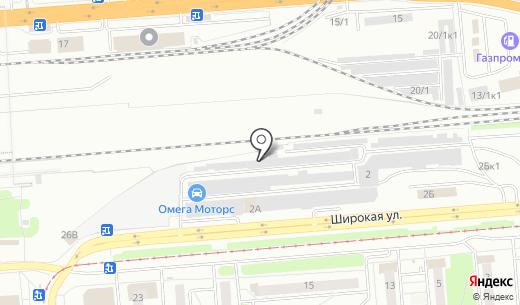 Альтком. Схема проезда в Новосибирске