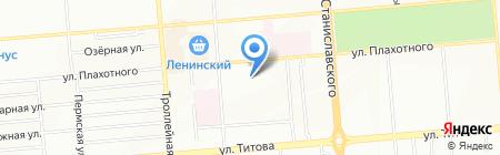 Термоклип-Сибирь на карте Новосибирска