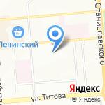Абсолют на карте Новосибирска