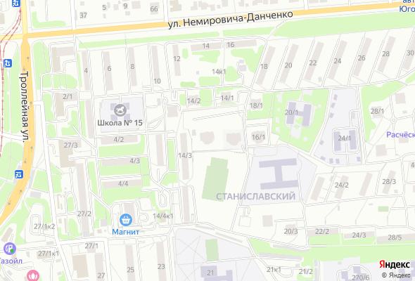 купить квартиру в ЖК на ул. Немировича-Данченко