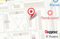 Схема проезда до компании Материал Маркет в Новосибирске