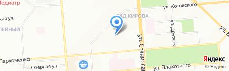 Средняя общеобразовательная школа №73 на карте Новосибирска