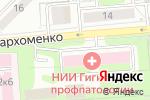 Схема проезда до компании Сиблик в Новосибирске