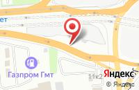 Схема проезда до компании Формула Уюта в Подольске