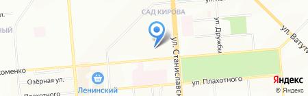 Абелев-Сервис на карте Новосибирска