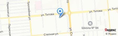 Kosatka.ru на карте Новосибирска