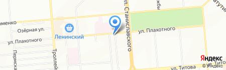Красота+ на карте Новосибирска