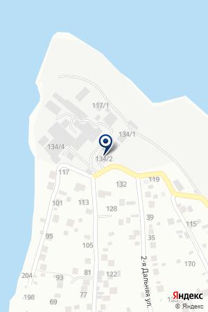 ТАКСИ-МУСТАНГ на карте Новосибирска