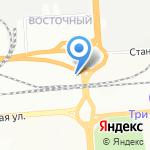 КАТОД на карте Новосибирска