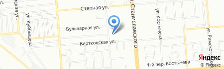 Медком-МП на карте Новосибирска