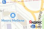 Схема проезда до компании Империя Х в Новосибирске