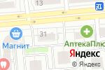 Схема проезда до компании Ипотечный Центр Сибири Династия в Новосибирске