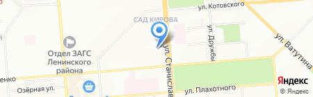 Детский сад №144 Сказкоград на карте Новосибирска