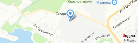 Мегатекс на карте Новосибирска