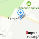 Магазин канцелярских товаров и игрушек на карте Новосибирска