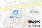 Схема проезда до компании ТАТ в Новосибирске