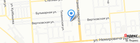 СибАзиятекс на карте Новосибирска