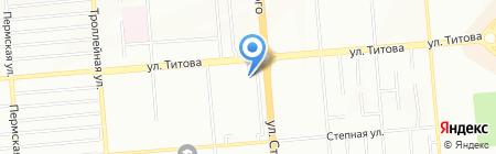 Сибстройсервис на карте Новосибирска