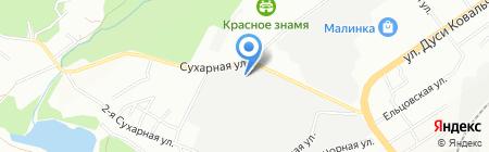 ОПТСТРОЙКОМПЛЕКТ-СИБИРЬ на карте Новосибирска
