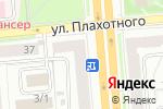 Схема проезда до компании Зефир в Новосибирске