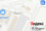 Схема проезда до компании ГрандАренда в Новосибирске