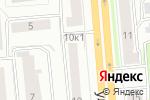 Схема проезда до компании Дверной Эксперт в Новосибирске