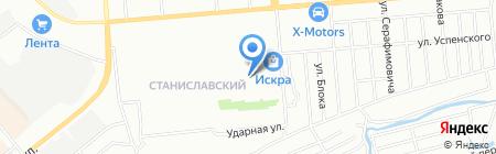 Немирович на карте Новосибирска