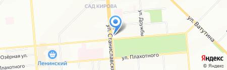 Лепота на карте Новосибирска