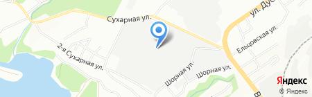 Альбатрос на карте Новосибирска