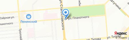 Ареола на карте Новосибирска