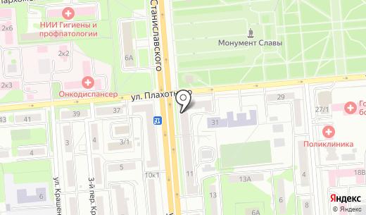 Ареола. Схема проезда в Новосибирске
