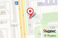 Схема проезда до компании Грани в Новосибирске