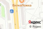 Схема проезда до компании 220 вольт в Новосибирске