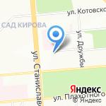 КОРУС на карте Новосибирска