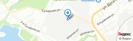 ЛиК на карте Новосибирска