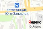 Схема проезда до компании АвтоДеталь в Новосибирске