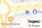 Схема проезда до компании Абсолют алиби в Новосибирске