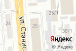 Схема проезда до компании Топ-Модус в Новосибирске