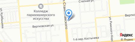 Vivian на карте Новосибирска