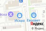 Схема проезда до компании Киоск по продаже мясной продукции в Новосибирске