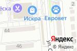 Схема проезда до компании Магазин сумок и колгот в Новосибирске