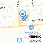 Автомотив на карте Новосибирска