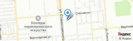 Счастливый дом на карте Новосибирска