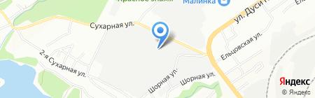 Амати на карте Новосибирска
